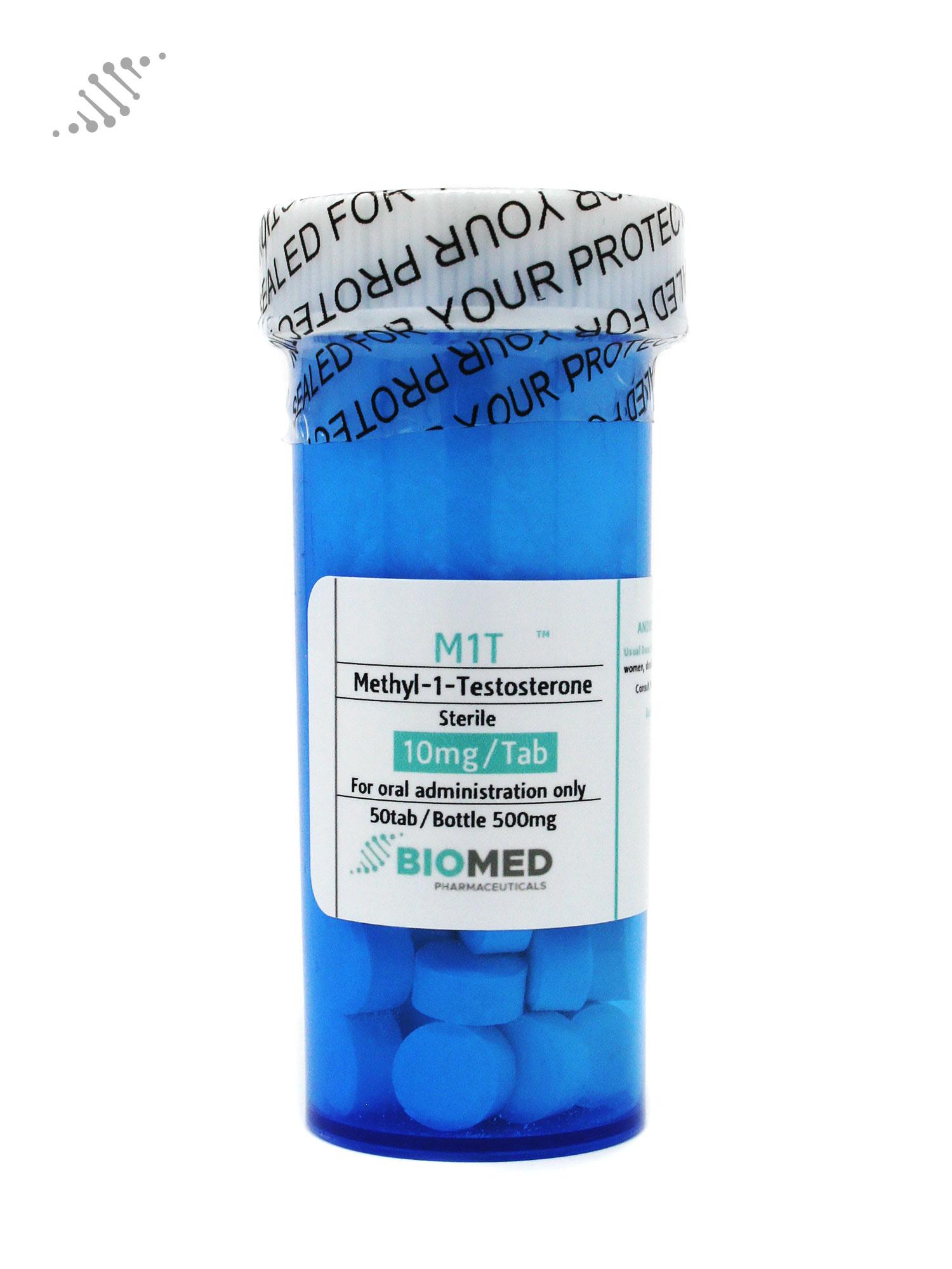 M1T Methyl-1-Testosterone 10mg/tab