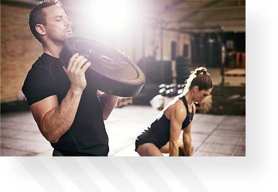 Couple Working Out Together 2