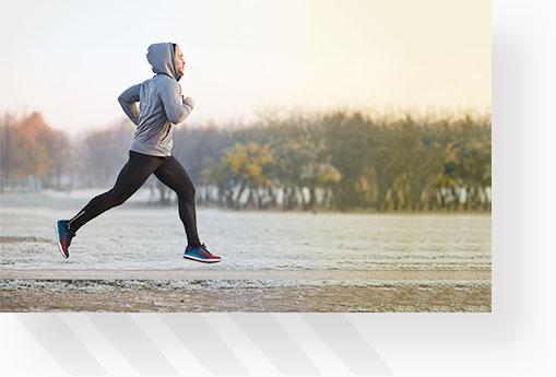 Man Going On A Run