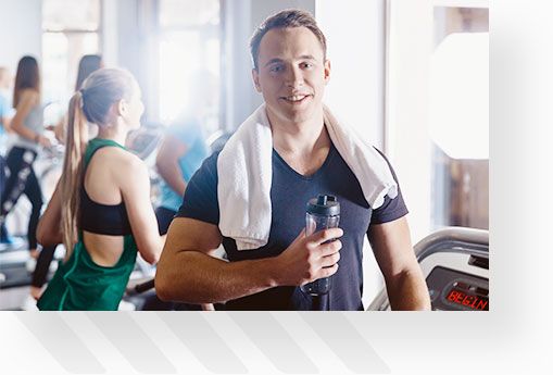 Fitness Guy With Water