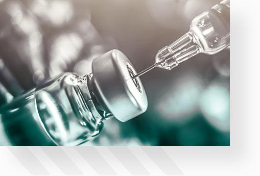 Syringe Extracting From Bottle 5