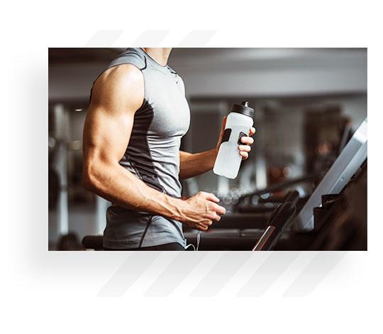 Man On Treadmill