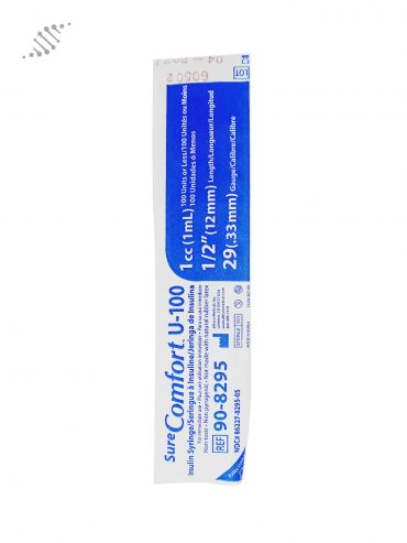 Biomed Insulin Syringe 12mm 10 pack