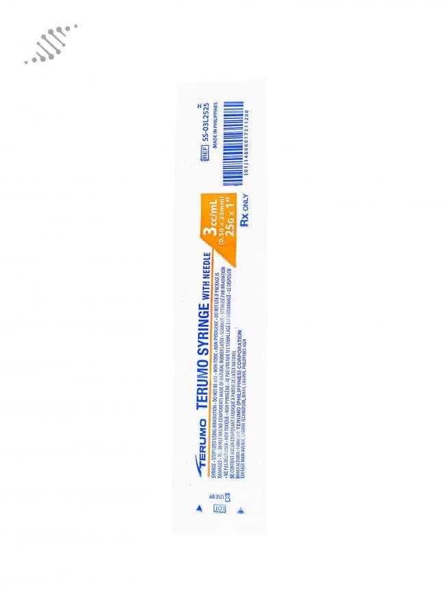 Biomed Intramuscular Syringe 25G 3ml 10 Pack