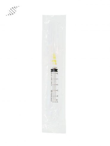 Biomed Intramuscular Syringe 25G 3ml 10 Pack Back
